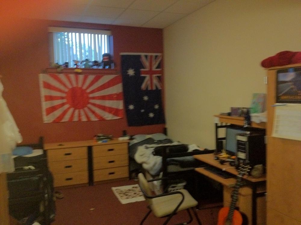 Dorm room madness.. (3/4)