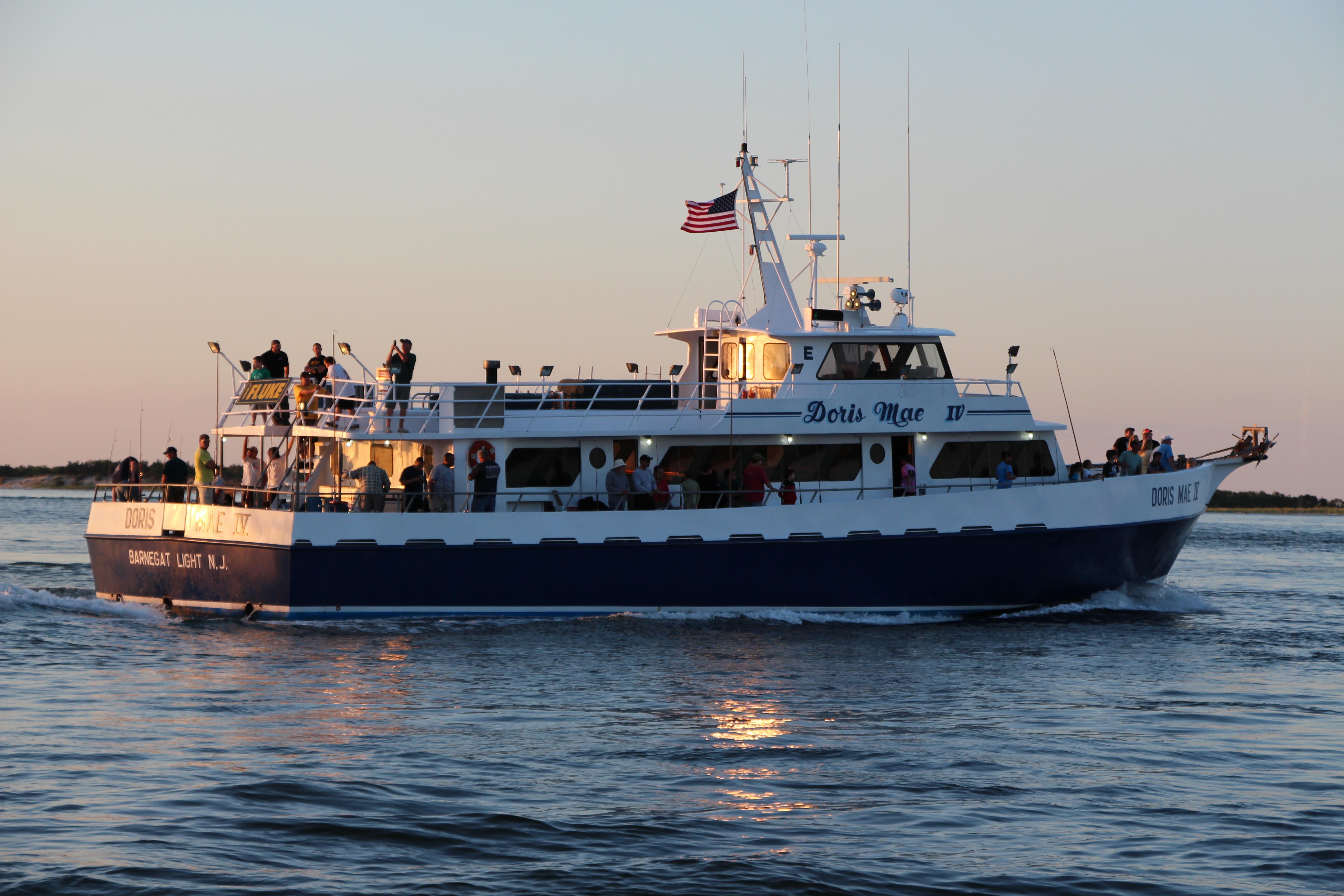 Doris Mae Fishing Boat Lbi Nj Best Fishing