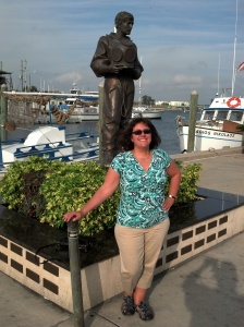 My DW in Tarpon Springs Saturday afternoon