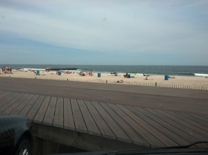 Beach in Belmar, 6.5.13