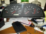 New speedometer for DS2's car, prior to beinginstalled